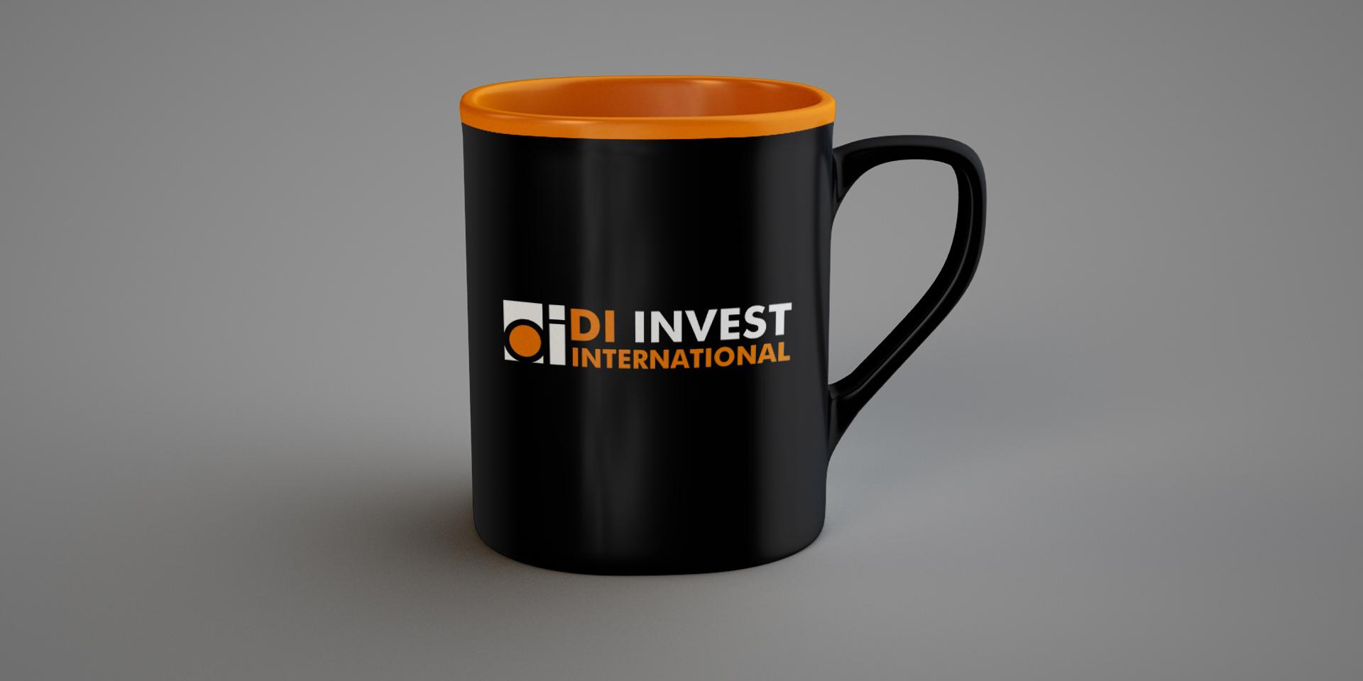 брандирана чаша ди инвест интернешенел