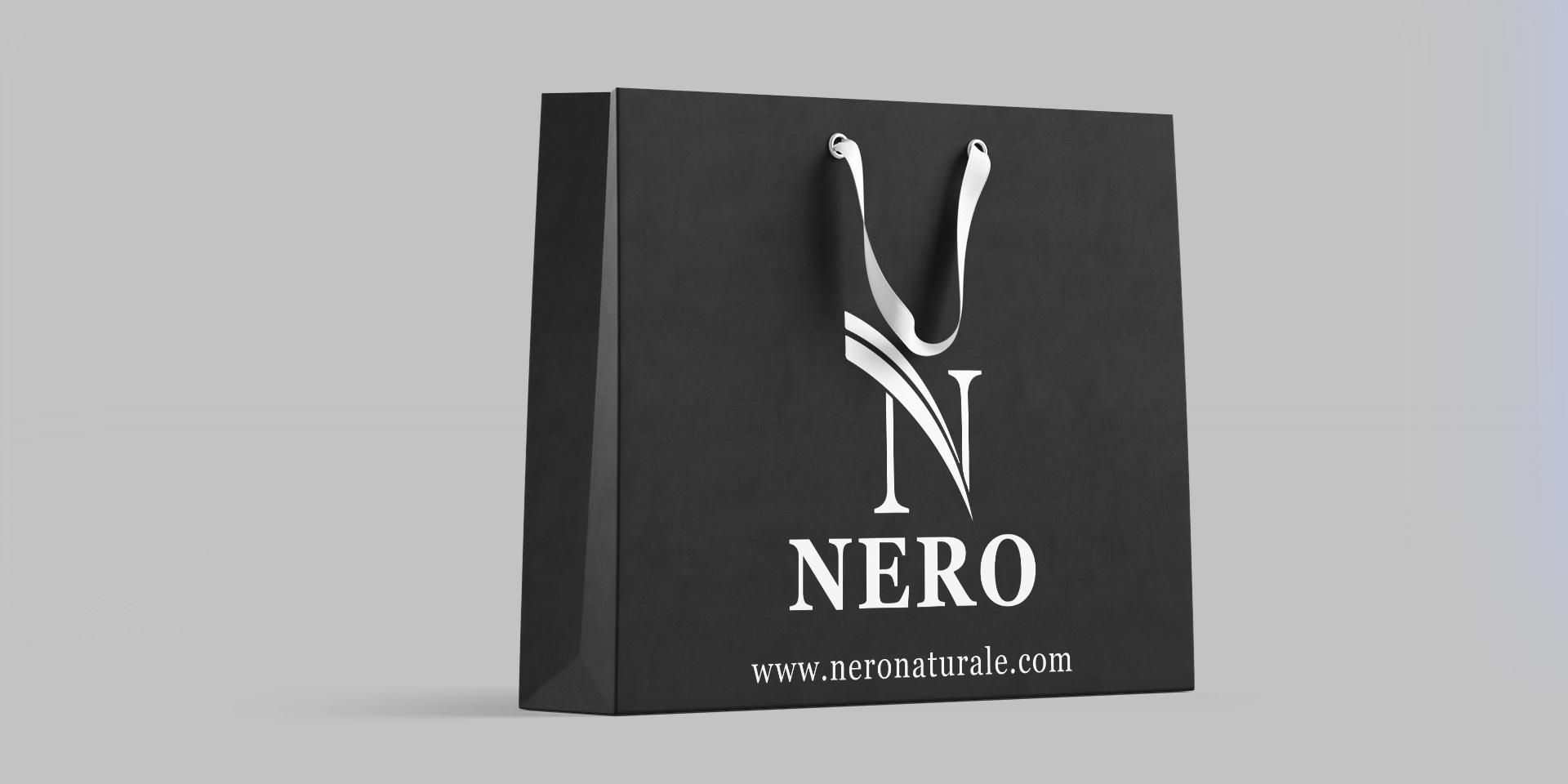 хартиена подаръчна торбичка Nero for men