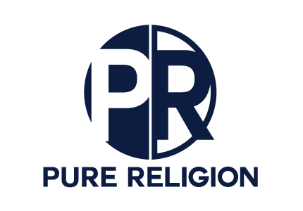 Pure Religion лого дизайн
